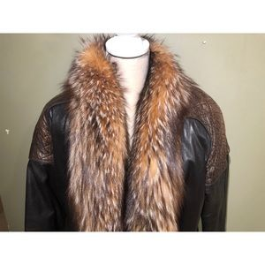 Jackets & Coats - VINTAGE LEATHER AND FUR